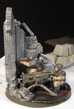 imperial guard diorama - Google Search
