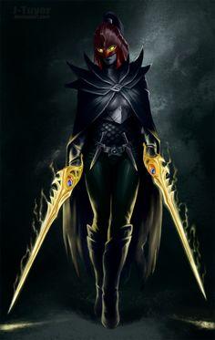 D2: The Phantom Assassin by J-Tuyor.deviantart.com on @deviantART