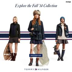 Tommy Hilfiger Female Styles Fall Collection 2014 http://de.tommy.com/on/demandware.store/Sites-DE-Site/de_DE/Home-Show?utm_source=Brand_asmi_Stylebook&utm_medium=Display&utm_campaign=fall14_Family