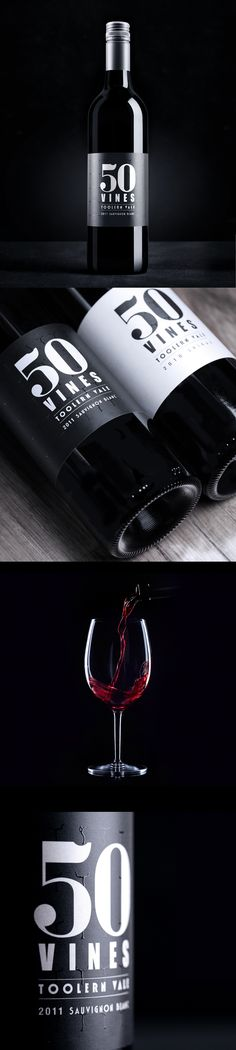 50 Vines Wine Labels | Sense creative agency for all our #wine loving #packaging peeps PD