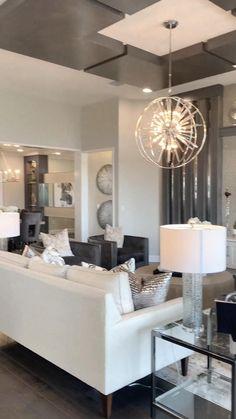 Interior Design Living Room, Living Room Designs, Interior Home Decoration, Luxury Home Decor, Interior Ideas, Interior Decorating, White Living Room Furniture, Modern House Interior Design, Black And White Living Room Ideas