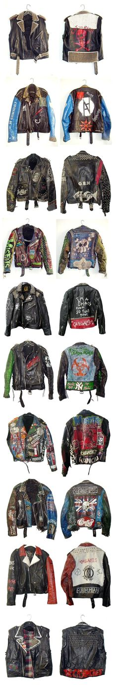 custom jackets ideas Under Wear o'malley underwear The Effective Pictures We Offer You About Rock Style men A quality picture can tell you many things. You can find the most beautiful pictures that ca Punk Jackets, Cool Jackets, Men's Leather Jacket, Leather Men, Leather Jackets, Punk Outfits, Cool Outfits, Estilo Punk Rock, Rock Style