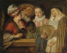 Maskerade Artist: Antoine Watteau Completion Date: c.1717