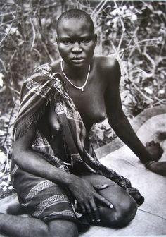 © Sebastião Salgado - Portrait of a Dinka girl, Sudan