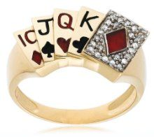 White Diamond Shop are proud to offer the famous Men's 10k Yellow Gold Diamond Poker Ring (1/8 cttw, I-J Color, I2-I3 Clarity), Size 10.    With so many on offer recently, it is good to have a name you can recognise. The Men's 10k Yellow Gold Diamond Poker Ring (1/8 cttw, I-J Color, I2-I3 Clarity), Size 10 is certainly that and will be a superb buy.