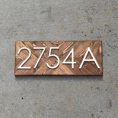 House number plaque, Number Sign, Address Numbers, Address Sign, Beach Cottage Decor, Beach Cottage Sign, farm house sign.
