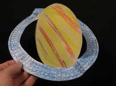 Preschool craft: Saturn's Rings http://analyzer.depaul.edu/paperplate/dynamic_solar_system.htm