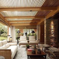 VARANDA BY @anamariavieirasantos #varanda #relax #landscapearchitecture #landscapedesign #wood #wonderful #landscapedesign #homedecor #homestyle #homedesign #repost #luxury #living #reference #instahome by gisellygraciano http://discoverdmci.com