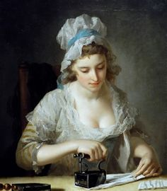 The Laundry Maid, Henry Robert Morland. English (1716 - 1797)