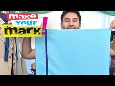 On this episode of Make Your Mark you'll learn how to make a PROFESSIONAL pillow case in no time with 3 simple straight stitches, SEW EASY! Learn to make your own and SAVE yourself some CASH and make them to match your bedding.  The Official YouTube Channel for Mark Montano, Author and TV Host. Mark writes The Big Ass Book of Crafts Series, the ...