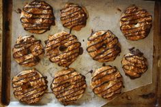 Craving Girl Scout Cookies? Make Homemade Samoas! I'm so excited to be able to try and make my favorite Girl Scout Cookie at home now!!
