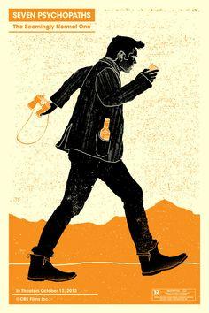 Seven Psychopaths poster - Colin Farrell