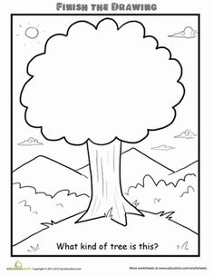 Finish the Drawing: What Kind of Cake Do You See? | Worksheet | Education.com
