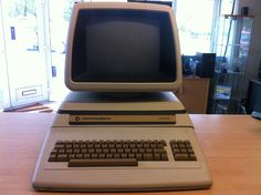 Commodore 8296 SK Computer Front View
