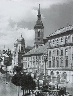 Ester Plicková: Bratislava. Rybné námestie:1947 Bratislava Slovakia, Notre Dame, Building, Times, Photography, Travel, Geo, Vintage, Pictures
