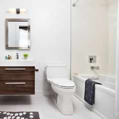 Small Full-bathroom Design, Pictures, Remodel, Decor and Ideas - page 4