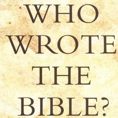 By Richard Elliot Friedman. Whose hands held the writing instruments that produced the inspired Word of God? Who Wrote The Bible, Source Documents, Writing Instruments, Word Of God, You Can Do, Breakup, Documentaries, Verses, My Books