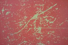 Pink on Green, scratched up bathroom stall paint. Grunge at it's finest @theDarklit