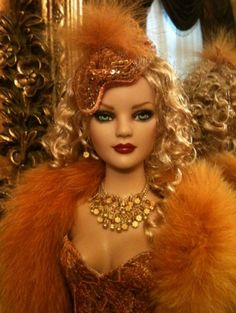 About Chambord: 22 American Model doll Chambord is in a ball... by Antoinette Couture