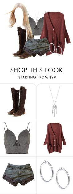 """""""Regan Wisly of Manhasset Hills"""" by dancer-sos on Polyvore featuring Charles David, Lucky Brand, River Island, Free People and Sterling Essentials"""
