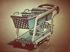 redesign of the IDEO Shopping Cart
