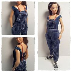 Lammily Doll Outfit / Overall / Lammily Clothes by LammilyOutfits