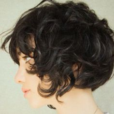 My hair would totally do this if I cut it