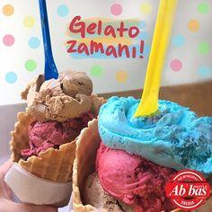 En sevilen gelato çeşitleriyle sıcakları serinletmeye devam ediyoruz! #AbbasWaffleAnkara #GelatoZamanı Gelato, Ankara, Cereal, Ice Cream, Breakfast, Instagram Posts, Desserts, Food, Waffles
