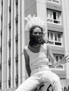 Publication: L'Express Styles June/July 2017 Model: Adrienne Juliger Photographer: Van Mossevelde+N Fashion Editor: Barbara Loison Hair: Gilles De Givry Make Up: Helene Vasnier PART II