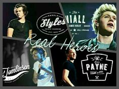 Real Heroes ❤ #onedirection #niallhoran #horan #niall #liampayne #liam #payne #harrystyles #harry #styles #louistomlinson #louis #tomlinson #one #direction #1D