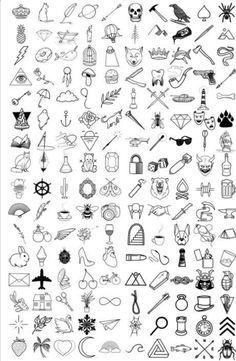 Cute Tiny Tattoos, Cool Small Tattoos, Little Tattoos, Mini Tattoos, Best Tattoos For Women, Small Tattoos For Guys, Tatto For Men, Maori Tattoo Frau, Tattoos Motive