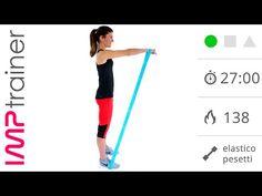 Esercizi Braccia: Allenamento Completo con Pesetti ed Elastico - YouTube
