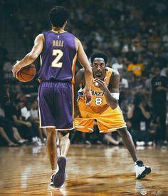 Lonzo Ball and Kobe Bryant edit