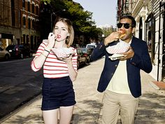 Who is this girl with Aziz?  I am jealtown.