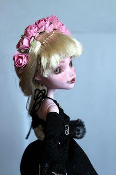 https://flic.kr/p/Ve4aa6 | Rose - custom OOAK Monster High Doll repaint | www.etsy.com/uk/listing/534641265/rose-custom-ooak-monste...