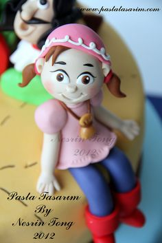 JAKE AND NEVERLAND PIRATES CAKE by CAKE BY NESRİN TONG, via Flickr