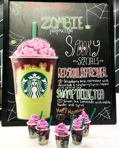 oof this was good whip Starbucks Halloween Drinks, Healthy Starbucks Drinks, Yummy Drinks, Starbucks Frappuccino, Starbucks Coffee, Starbucks Secret Menu Drinks, Special Starbucks Drinks, Raspberry Tea, Fun Baking Recipes