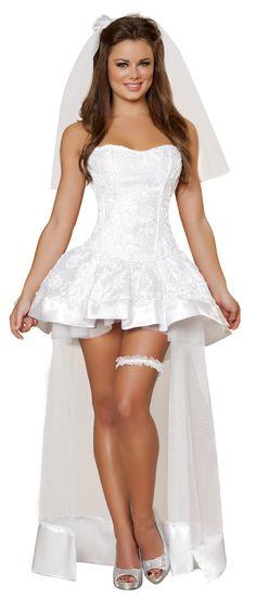 Beautiful Bride Woman Halloween Costume