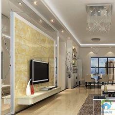 Phòng cách theo phong cách hiện đại, sang trọng rất thích hợp để sử dụng loại gạch ốp trang trí này Home Decor, Decoration Home, Room Decor, Home Interior Design, Home Decoration, Interior Design