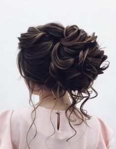 Featured Hairstyle: Elstile (El Style); www.elstile.ru; Wedding hairstyle idea.