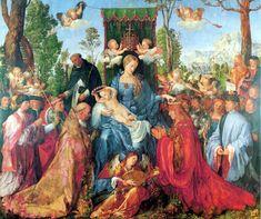 Alberto Durero, cuadros del renacimiento, pintura alemana.