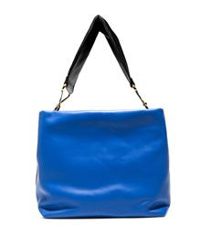 MARNI: BLUE MAXI STRAP BAG | Playground Shop