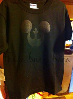DIY Disney Shirts, one for the hubs.