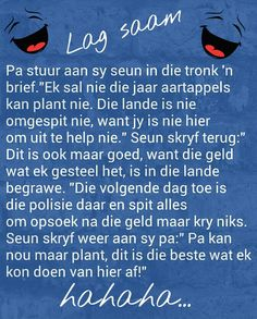 'n Seun in die tronk maak 'n slim plan om sy pa te help Jokes Quotes, Qoutes, Boys Knitting Patterns Free, Afrikaanse Quotes, Goeie Nag, Funny Quotes For Teens, Special Quotes, Happy Moments, Wise Words