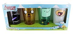 Adventure Time Faces 4 Piece Pint Glass Set *** Click on the image for additional details.