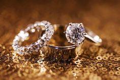 Lab Diamond Men's Woman's Wedding Ring Bridal Band Trio Set White Gold Over 2 CT #Aonedesigns #WeddingEngagementAnniversaryPromiseGift