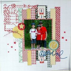 ScrapMuch? May 13 2016 Sketch-y Friday DT layout by Sandy