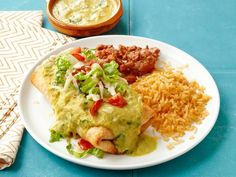 Get Almost-Famous Chimichangas Recipe from Food Network