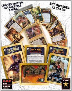 Trading Card Set 2 Top Secret Press | Etsy
