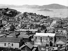 1878 View looking toward Alcatraz